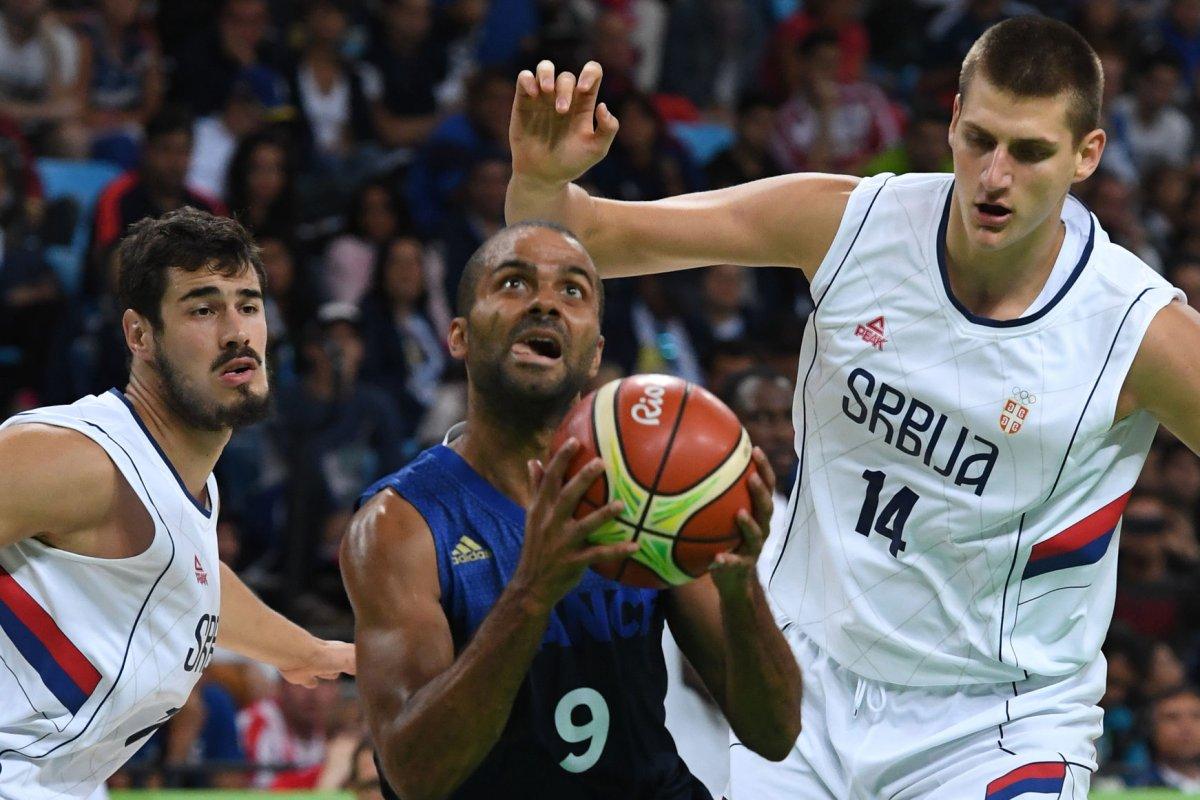 Rio Replay San Antonio Spurs Tony Parker sinks Serbia with game