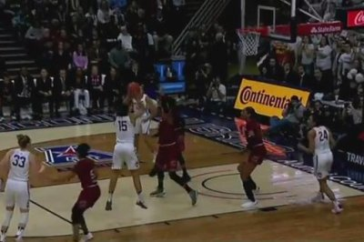 UConn women cruise to 100th consecutive victory with win over South Carolina