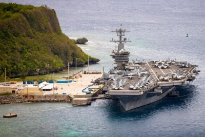 Roosevelt carrier holds at-sea simulations as 13 sailors positive for COVID-19 again