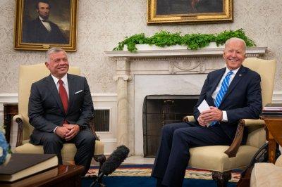 Joe Biden meets Jordan's King Abdullah in sign of improved relations