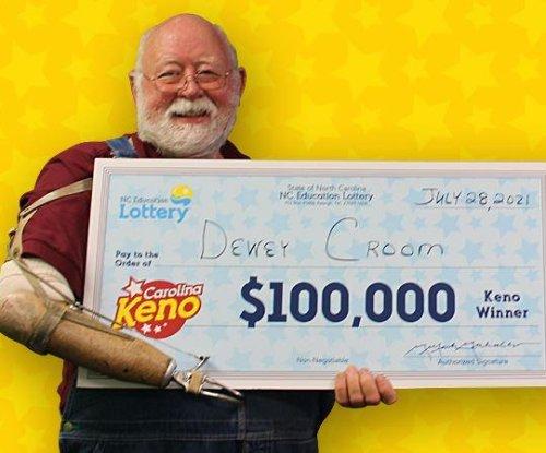 North Carolina man scores his second six-digit lottery jackpot