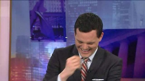 WGN anchor Dan Ponce has laugh attack during 'alligator for beer' report