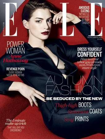 Anne Hathaway details her struggle with fame
