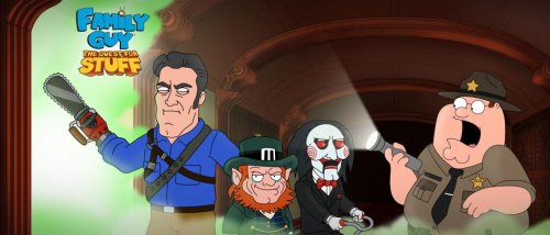 Billy the Puppet, Ash Williams and Leprechaun appear in 'Family Guy' mobile game