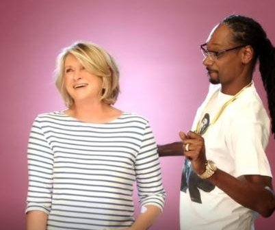 Trailer for 'Martha and Snoop's Potluck Dinner Party' filled with gourmet food and celebrity guests