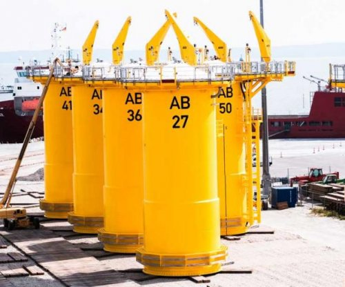 First foundations set for Baltic Sea wind farm