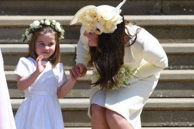 Princess Charlotte attends first day of school