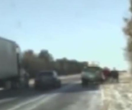 Troopers, driver narrowly escape out of control truck