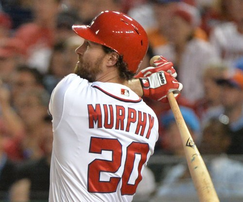 Daniel Murphy leads Washington Nationals past Philadelphia Phillies