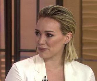 Hilary Duff opens up on being a mom, not needing the perfect body