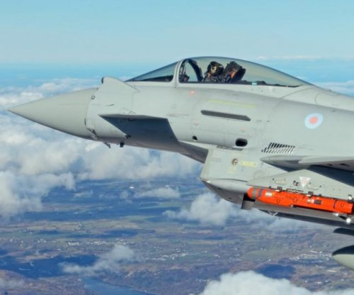 Typhoon fighter tests new Spear long-range missile