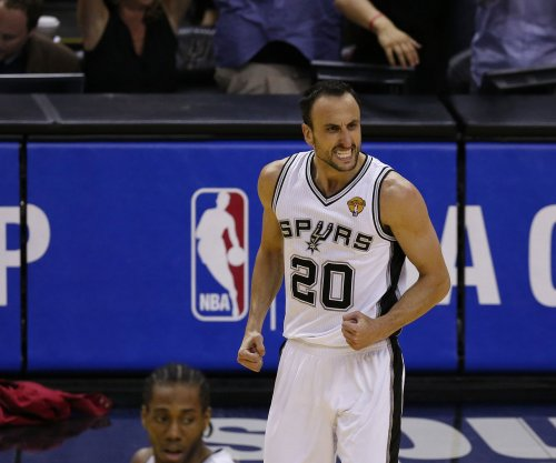 San Antonio Spurs' Manu Ginobili mulls retirement after sweep by Golden State Warriors