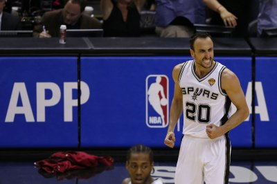 San Antonio Spurs' Manu Ginobili mulls retirement after sweep by Golden State Warriors