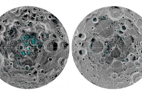 There's definitely ice on the lunar poles