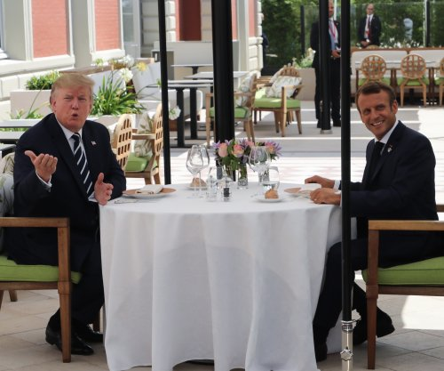 Trump arrives in France for G7 summit amid disputes