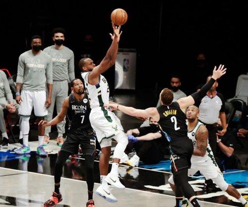 Middleton, Antetokounmpo lead Bucks past Nets to force Game 7