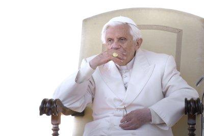 Benedict says he's 'pilgrim of charity'