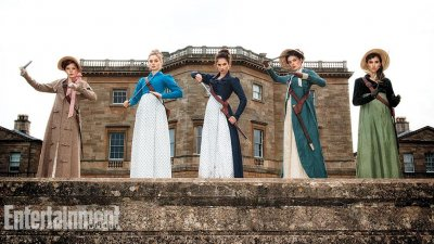 Lily James stars in first 'Pride and Prejudice and Zombies' photo
