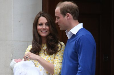 See first photos of Princess Charlotte and Prince George together