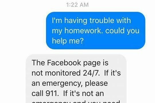 ohio fifth grader asks police for help math homework com