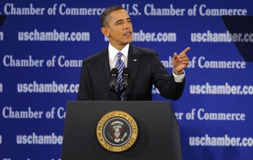 Obama to speak to Chamber of Commerce