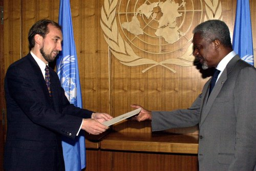 U.N. appoints first Arab, first Muslim to head Human Rights office