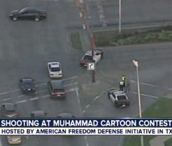 2 suspects killed in Texas after firing on Prophet Muhammad drawing contest