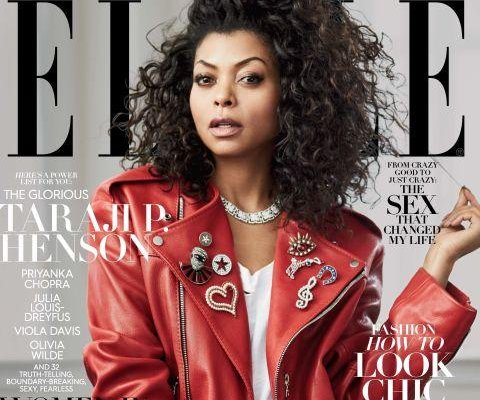 Taraji P. Henson covers Elle's Women in TV issue