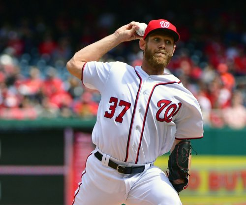 Stephen Strasburg's arm, bat leads Washington Nationals past Philadelphia Phillies