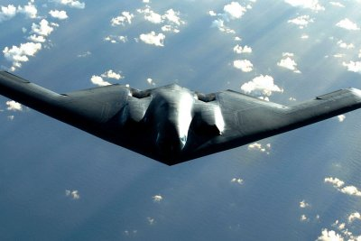 Air Force tests Raytheon's GPS receiver aboard B-2 bomber