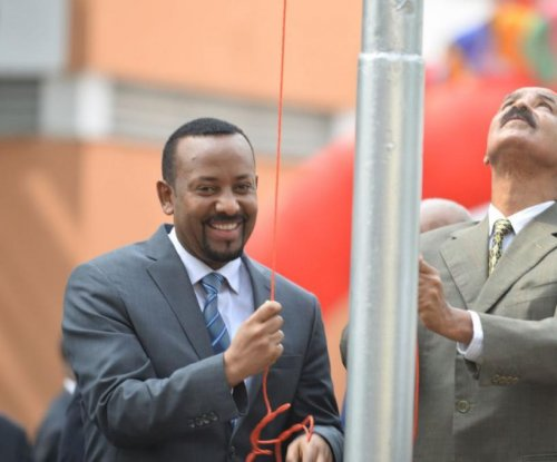 Eritrea reopens Ethiopia embassy as leaders pledge peace, progress