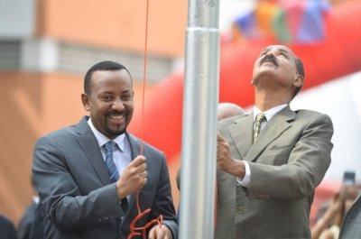 Eritrea reopens Ethiopia embassy as leaders pledge peace, progress