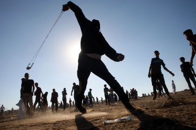 Gaza border protests leave 41 Palestinians injured