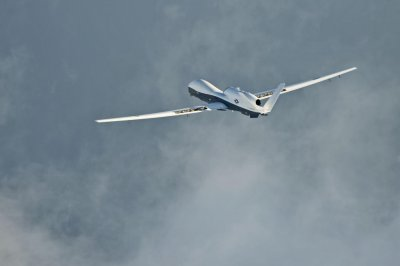 Navy's Triton surveillance drone flies cross-country