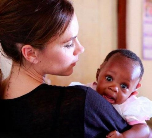 Victoria Beckham shares photos from U.N. trip to South Africa