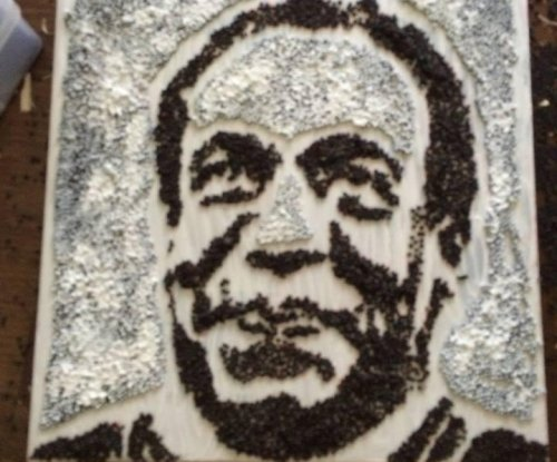 Bill Cosby portrait in rapeseed pulled from Minnesota State Fair