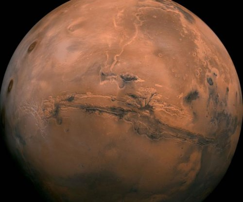 Methane bursts may have warmed a young Mars