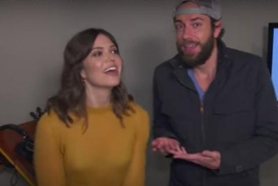 Mandy Moore, Zachary Levi preview 'Tangled: The Series'