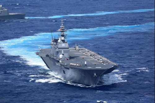 Japan commissions second helicopter carrier