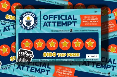 Idaho Lottery gathering scratch-off players for world record attempt