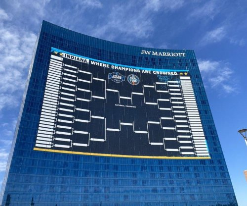 Giant NCAA bracket on Indiana hotel breaks Guinness record