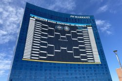Giant NCAA bracket on Indiana hotel breaks Guinness record