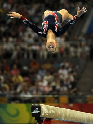 Gymnast chosen as top amateur athlete