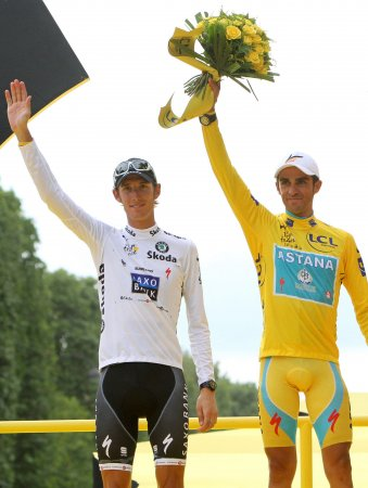 Contador joins Saxo cycling team