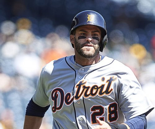 J.D. Martinez carries Detroit Tigers past Oakland Athletics