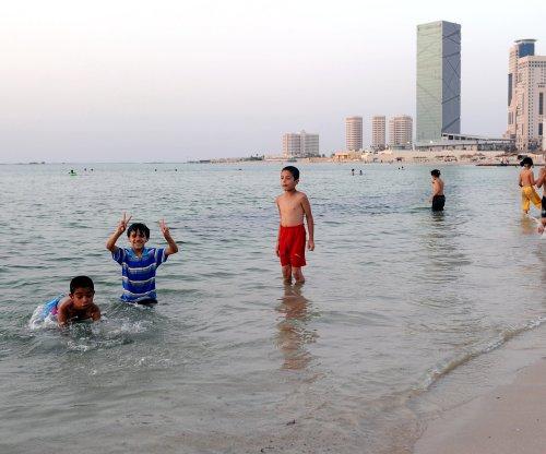 Rocket attack on Tripoli beach kills five family members