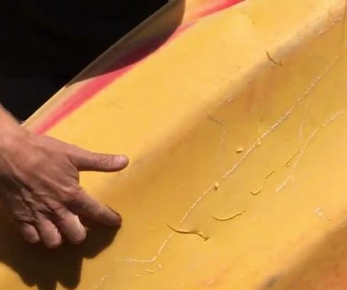 Great white shark attacks kayak off California, boater unharmed
