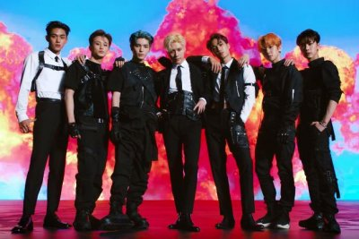 SuperM members assemble in group trailer