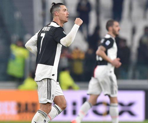 Cristiano Ronaldo scores twice, moves into top five in goals
