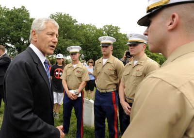 Hagel promises new military technology to Asia